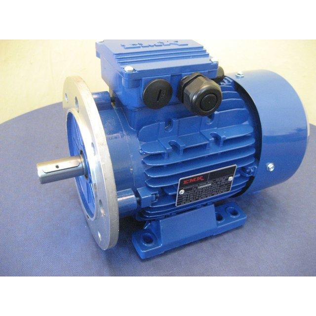 IE3 Fuß EMK Elektromotor Drehstrom 1,1kW 3000//min Welle 19mm 80 B3