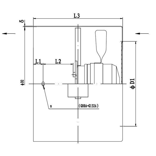 G200F//D 1 Stück Feder Zugfeder dick passend Loncin G200 F